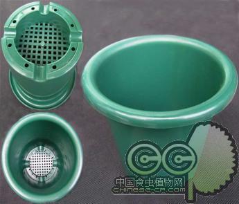 桶形花盆(f140)坚固耐用|出口